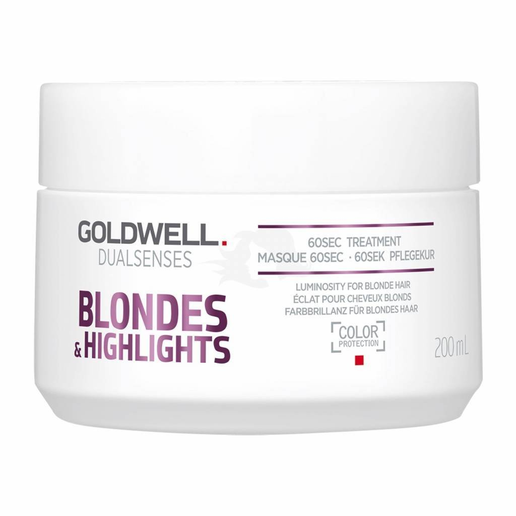 Goldwell Dual Senses Blondes and Highlights 60 Sec Treatment 200ml, 1 Count 8005