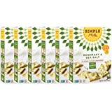 Simple Mills Naturally Gluten Free Almond Flour Crackers, Rosemary & Sea Salt, 6 Count