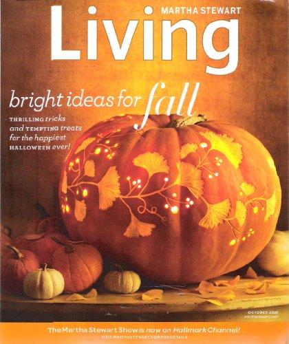 Halloween Treats Martha Stewart (Martha Stewart Living Magazine October 2010 (Single Issue Magazine Back)