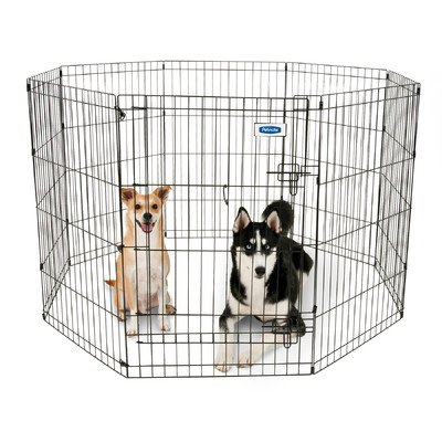 Exercise Dog Pen Size: Medium (36″ H x 24″ W)