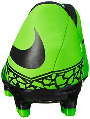 Nike Mens Hypervenom Phelon Ii Fg Scarpe Da Calcio Verde Strike, Nero