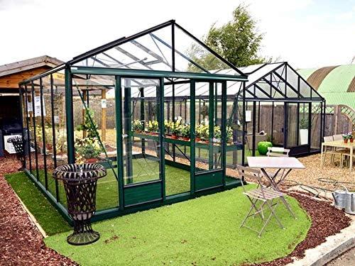 Jardimagine – Invernadero de Cristal Templado 4 mm, Hojas Euro ...