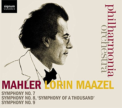 Price comparison product image Mahler: Symphonies Nos. 7-9 [Box Set]