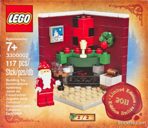 (LEGO Exclusive Limited Edition 2011 Holiday Set #3300002 Christmas Morning #2)