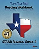 Texas Test Prep Reading Workbook, STAAR Reading Grade 4, Test Master Press, 1463524552