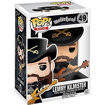 Funko POP Rocks: Lemmy Kilmister Action Figure: Funko Pop! Rocks: Toys & Games