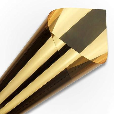 Unidireccional Espejo Película, Bloqueo Solar Control De Calor ...