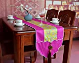 Kaxima Classic style, silk, with jade pendant, table flag, decoration