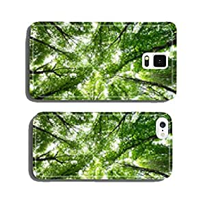 green forest cell phone cover case Samsung S6