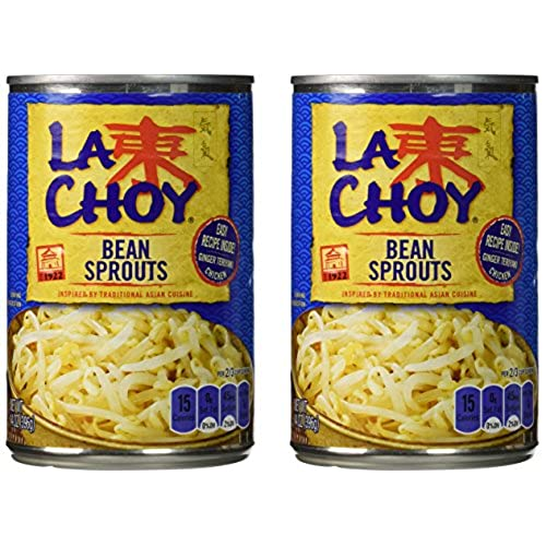 Bean sprouts amazon la choy bean sprouts asian cuisine 14oz 2 pack solutioingenieria Image collections