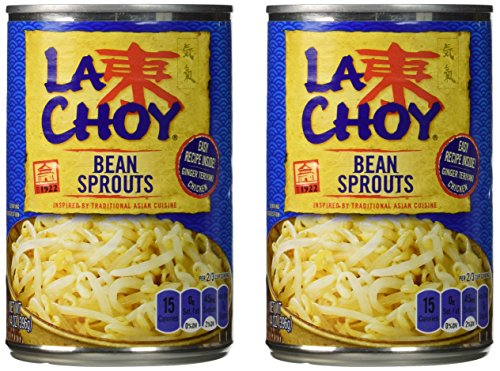 La Choy BEAN SPROUTS Asian Cuisine 14oz (2 pack)