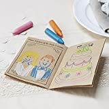 Ginger Ray Kids Wedding Entertainment Activity Books X 5 Pack - Vintage Affair
