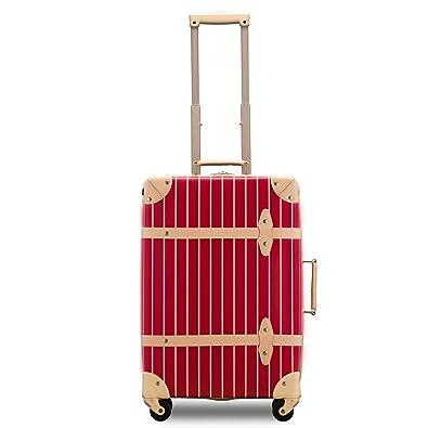 960d404fc7 Amazon | 【Recess_リセス】 トランクキャリー 超軽量 スーツケース ストライプ 100席未満機内持ち込み~大型 ss s m l  キャリーバッグ キャリーケース ...