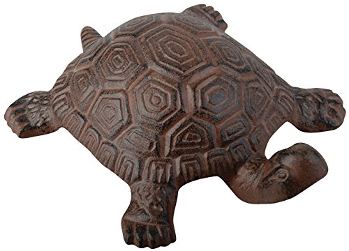 (Esschert Design Cast Iron Decorative Turtle,)