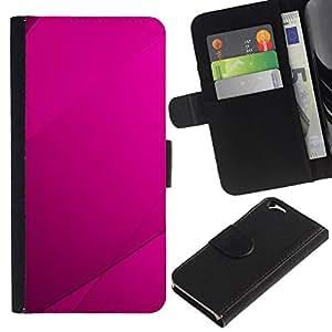 All Phone Most Case / Oferta Especial Cáscara Funda de cuero Monedero Cubierta de proteccion Caso / Wallet Case for Apple Iphone 6 // Purple Tile