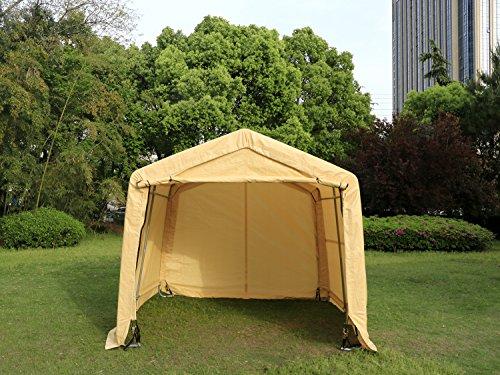 Walcut Auto Shelter Portable Garage Storage Shed Canopy C...