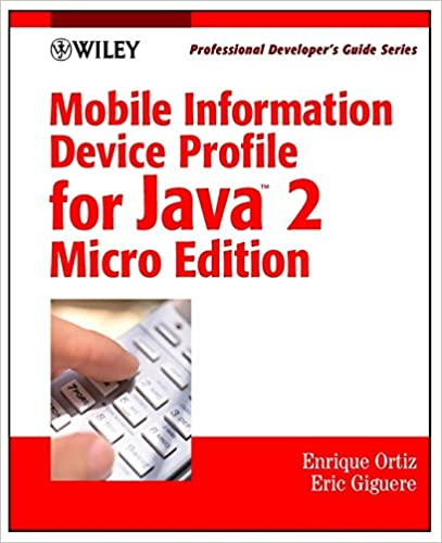 Java 2 micro edition : professional developers guide
