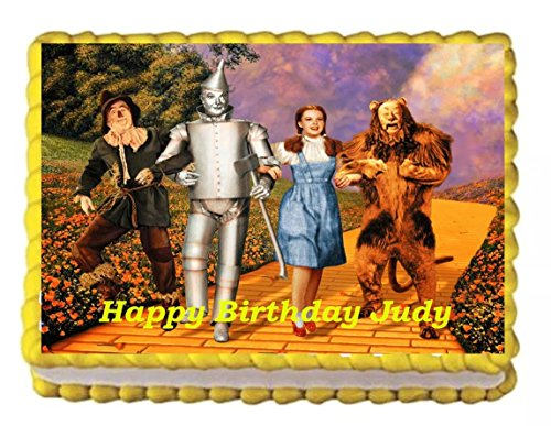 Wizard of Oz Edible Cake Image 1/4 sheet