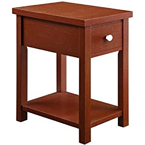 Blue End Table With Drawer Better Homes And Gardens Furniture Red Kitchen Dining