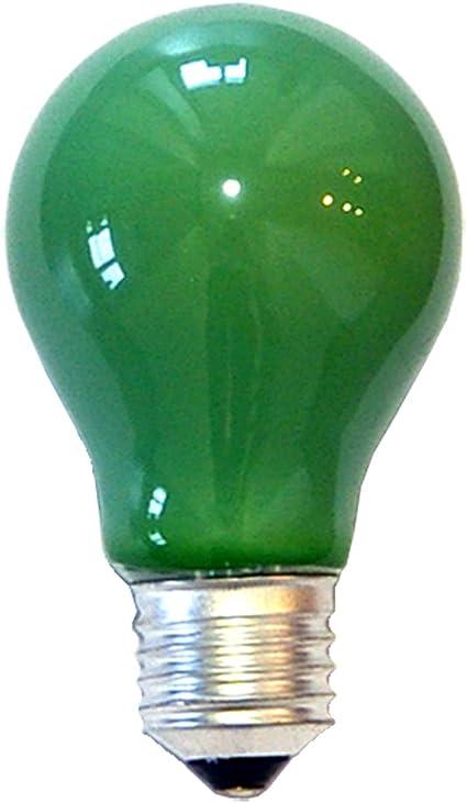Allgebrauchslampe 230V 25W E27 grün Glühbirne Lampe Birne 230Volt 25Watt neu