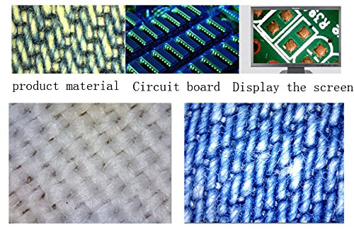 Profesional Binocular est/éreo microscopio 20/x y 40/x aumentos con led iluminaci/ón para industria electr/ónica
