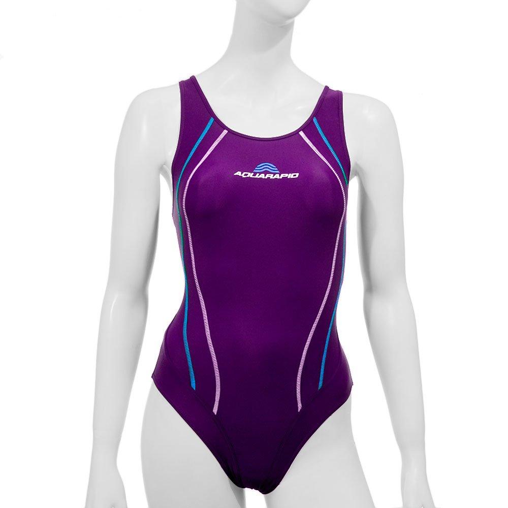 Aquarapid Adhil Costume da Nuoto, Donna, Blu, 5 (48) IGA Company