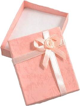 1pcs Caja de Regalo de Arco Elegante Cajas de Collar rectangulares para Pulseras Pendientes Presentación de joyería por TheBigThumb: Amazon.es: Hogar
