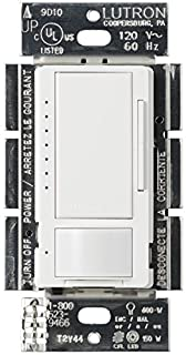 Lutron Maestro C.L Dimmer and Motion Sensor for Dimmable LED, Incandescent and Halogen Bulbs, Single-Pole and Multi-Location, MSCL-OP153M-WH, White (B00CAO4NUM) | Amazon price tracker / tracking, Amazon price history charts, Amazon price watches, Amazon price drop alerts