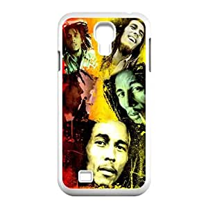 Qxhu Bob Marley patterns Pattern Protective Hard Phone Cover Case for SamSung Galaxy S4 I9500