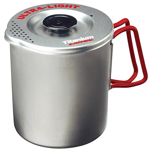 EVERNEW Titanium Pasta Pot, Small by EVERNEW