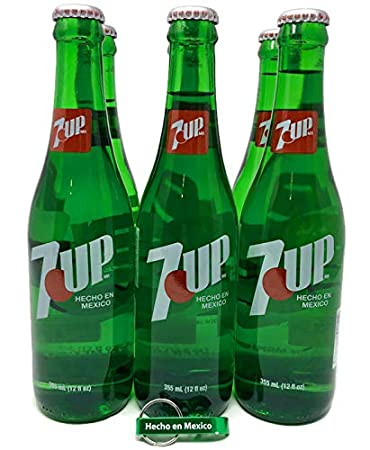 amazon com 7up mexican soda soft drink 12 ounce glass bottles