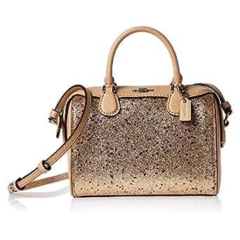 Coach F37747 Micro Bennett Satchel Bag for Women - Leather, Gold (192643367579)