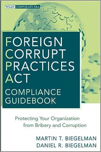 Amazon Com Foreign Corrupt Practices Act Compliance