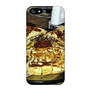 Snap-on Bacon Sausage Eggs Cheese French Toast Syrup Case Cover Skin Compatible With Iphone 5/5s