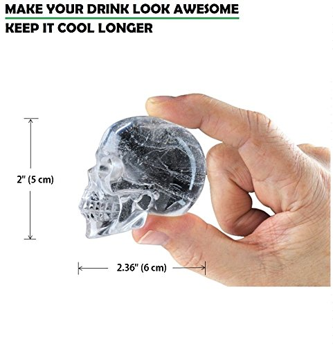 DineAsia-3D-Skull-Flexible-Silicone-Ice-Cube-Mold-Tray-Makes-Four-Giant-Iced-Skulls-Easy-Release-Realistic-Skull-Ice-Cube-Maker-BPA-Free-Black