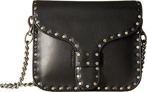 Rebecca Minkoff Women's Midnight Mini Messenger Bag, Black, One Size