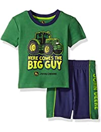 Baby Boys' Truck Short Set