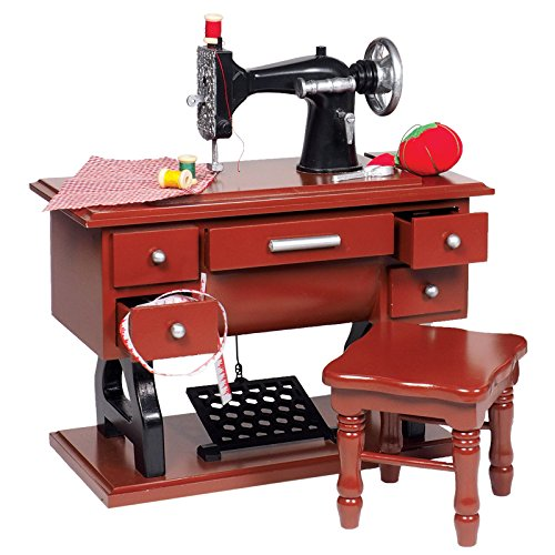 toy sewing machine wooden - 4