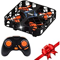 Crazepony Micro Quadcopter Box 2.4Ghz 6-Axis Gyro 4CH Super Mini RC Drone with Headless Mode One Key Return 3D Flips