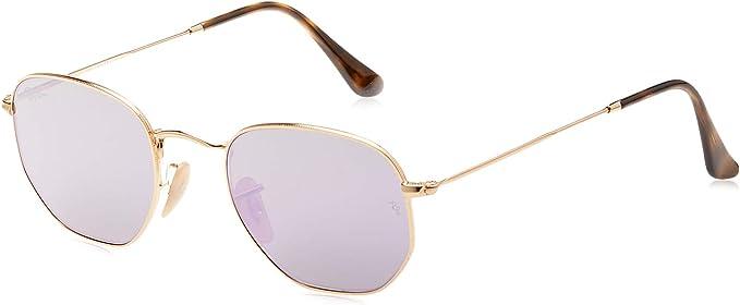 Ray-Ban 0Rb3548N 001/8O Gafas de sol, Gold, 48 para Hombre: Amazon ...