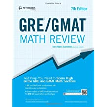 GRE/GMAT Math Review (Peterson's GRE/GMAT Math Review)
