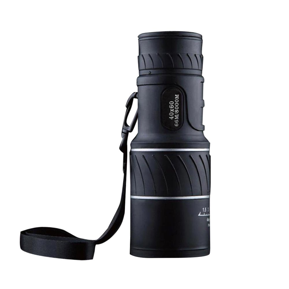 ASOSMOS Focus Monocular 40x60 Zoom HD Night Vision Telescope for Travel Hunting Caping Hiking Sporting Event