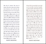 Quiplip Funny Fill-in-The-Blank Wedding and Birthday Cards, 6-Pack (QL03246PCK)