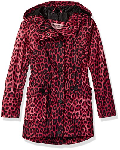 Leopard Trench (Urban Republic Little Girls' Trench Coat, Leopard Print, 5/6)