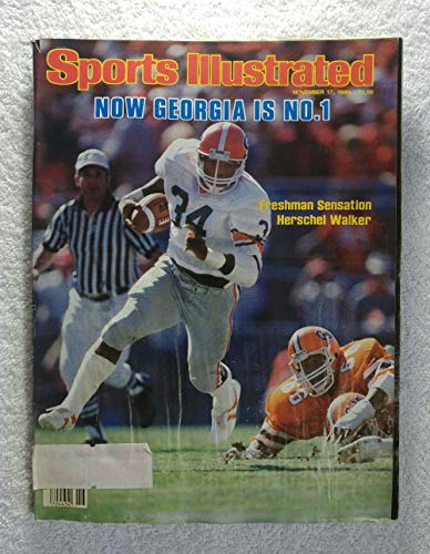 - Herschel Walker - The Georgia Bulldogs (1980 National Champions) defeat the Florida Gators to become No. 1 - Sports Illustrated - November 17, 1980 - College Football - SI