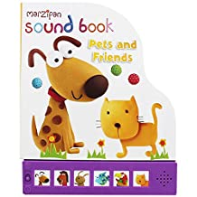 Children's Marzipan Shaped Hardback Sound Book Pets And Friends