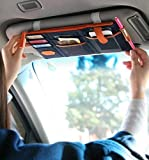 G2PLUS Multi-purpose Auto Car Sun Visor Organizer