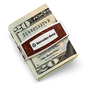 Mercedes-Benz Burlwood Money Clip, Genuine MB Product