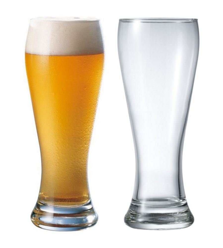 Durobor Danube Beer Lager Glass Glasses 660ml Set of 2