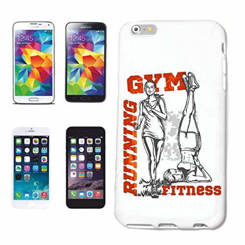 "cas de téléphone iPhone 6+ Plus ""RUNNING GYM FITNESS MUSCULATION GYM Musculation GYMNASE muskelaufbau SUPPLEMENTS WEIGHTLIFTING BODYBUILDER"" Hard Case Cover Téléphone Covers Smart Cover pour Apple iPh"